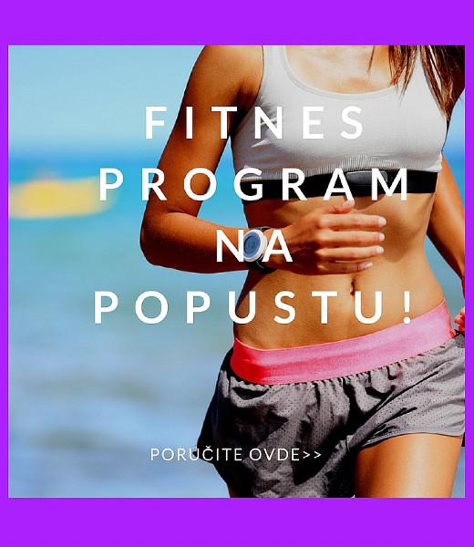 Fitnes program na popustu samo ovog vikenda!