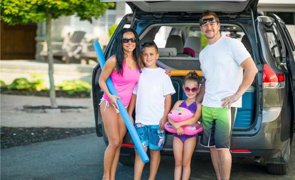 Porodica na putovanju