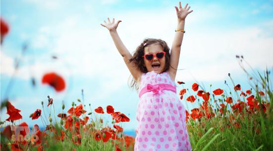 Radost devojčice