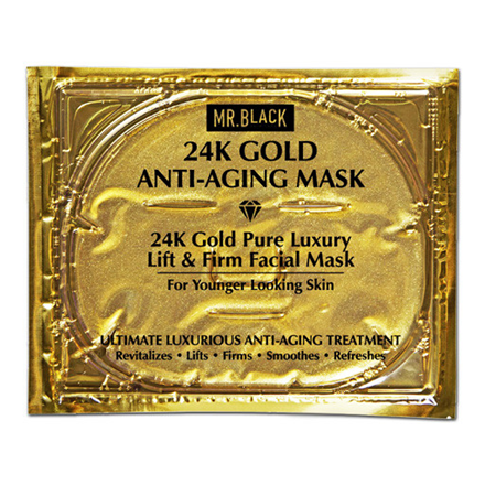 Mr. Black 24K Gold Anti Aging maska pakovanje