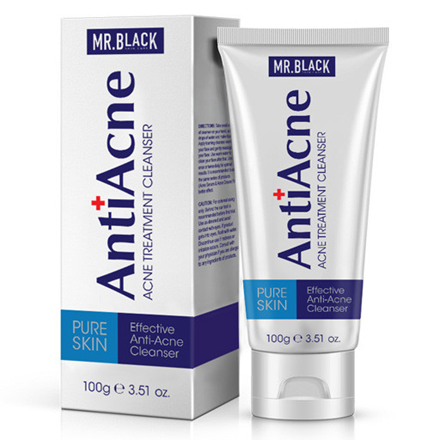 Mr. Black Anti Acne Cleanser