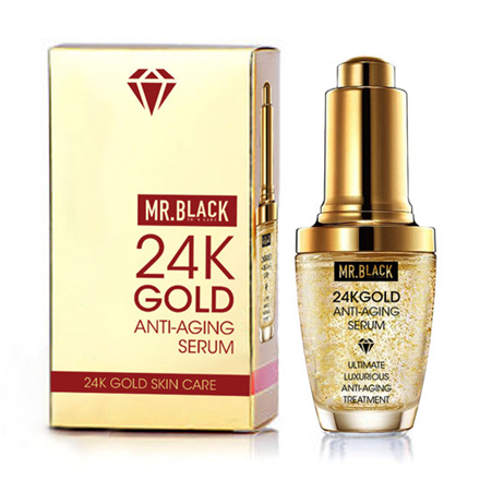 Mr. Black Gold Anti-Aging Serum, proizvod